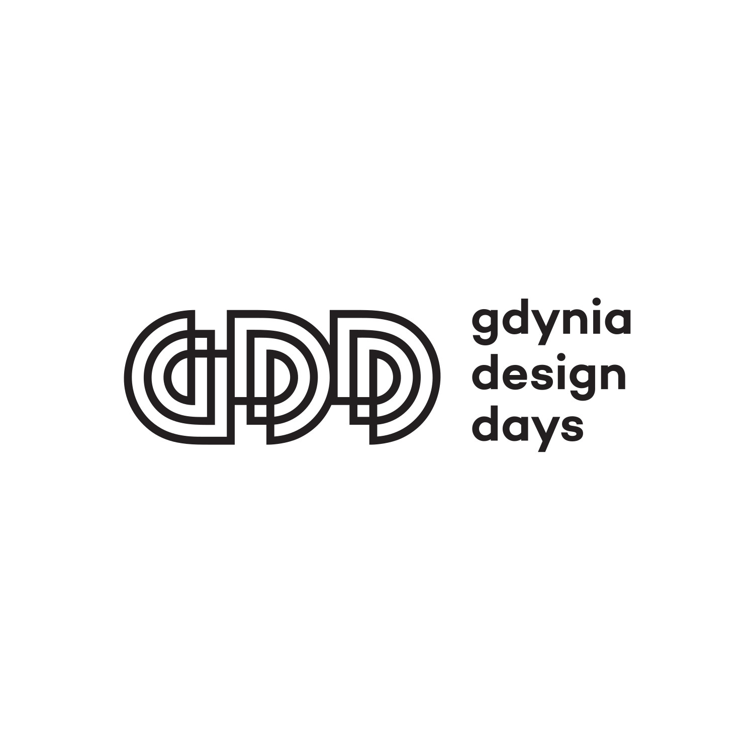 Logo of Gdynia Design Days