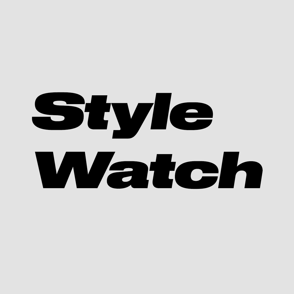 Logo of STYLEWATCH