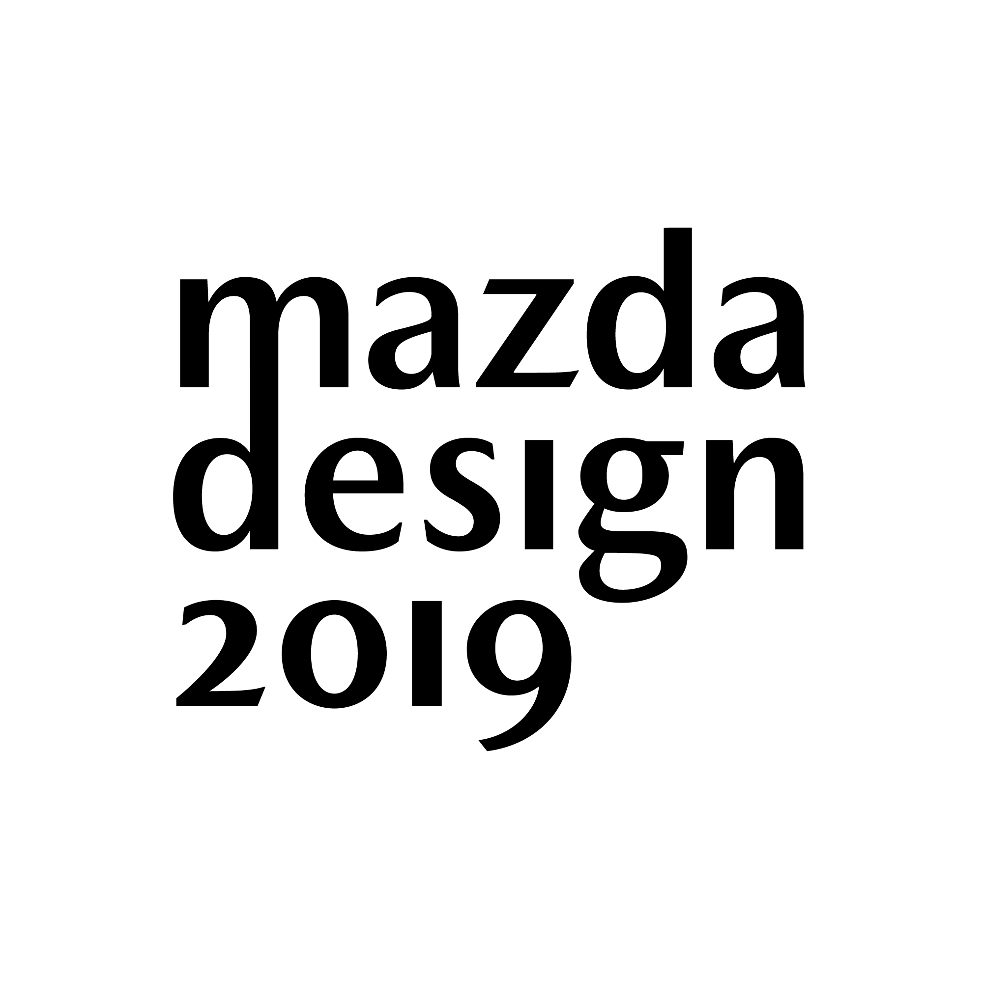 Logo of MAZDA DESIGN