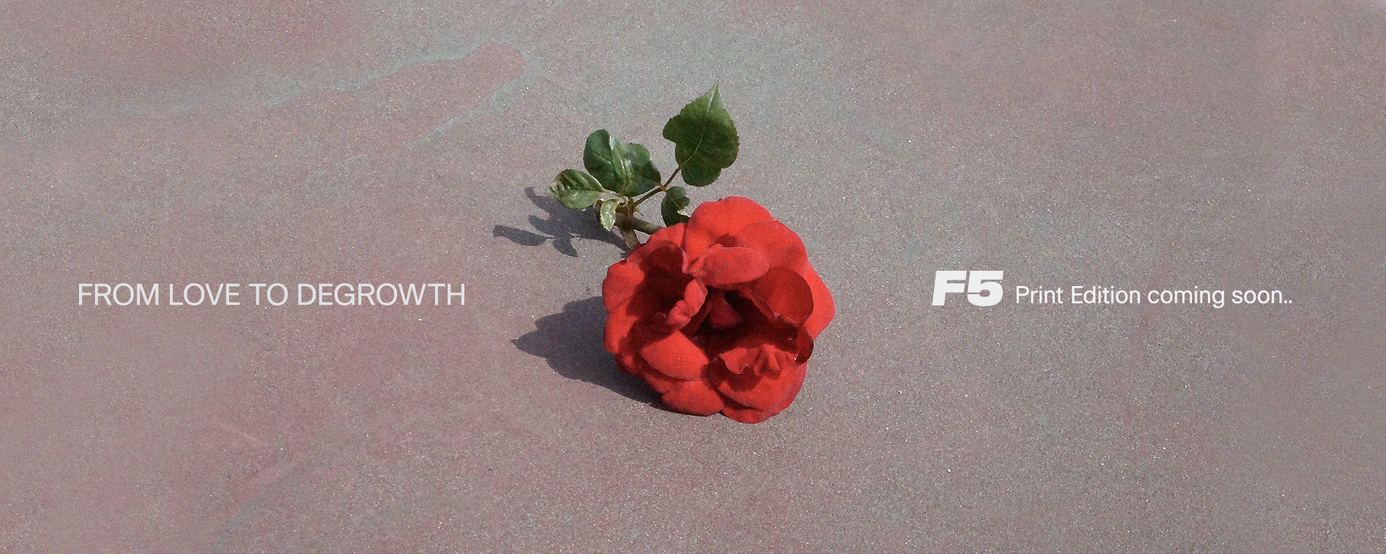 Read full story «F5 FROM LOVE TO DEGROWTH»