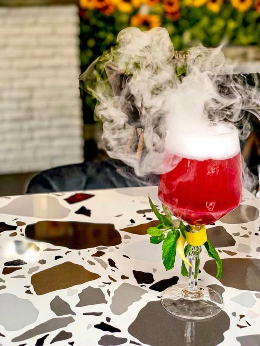 drink z dymem