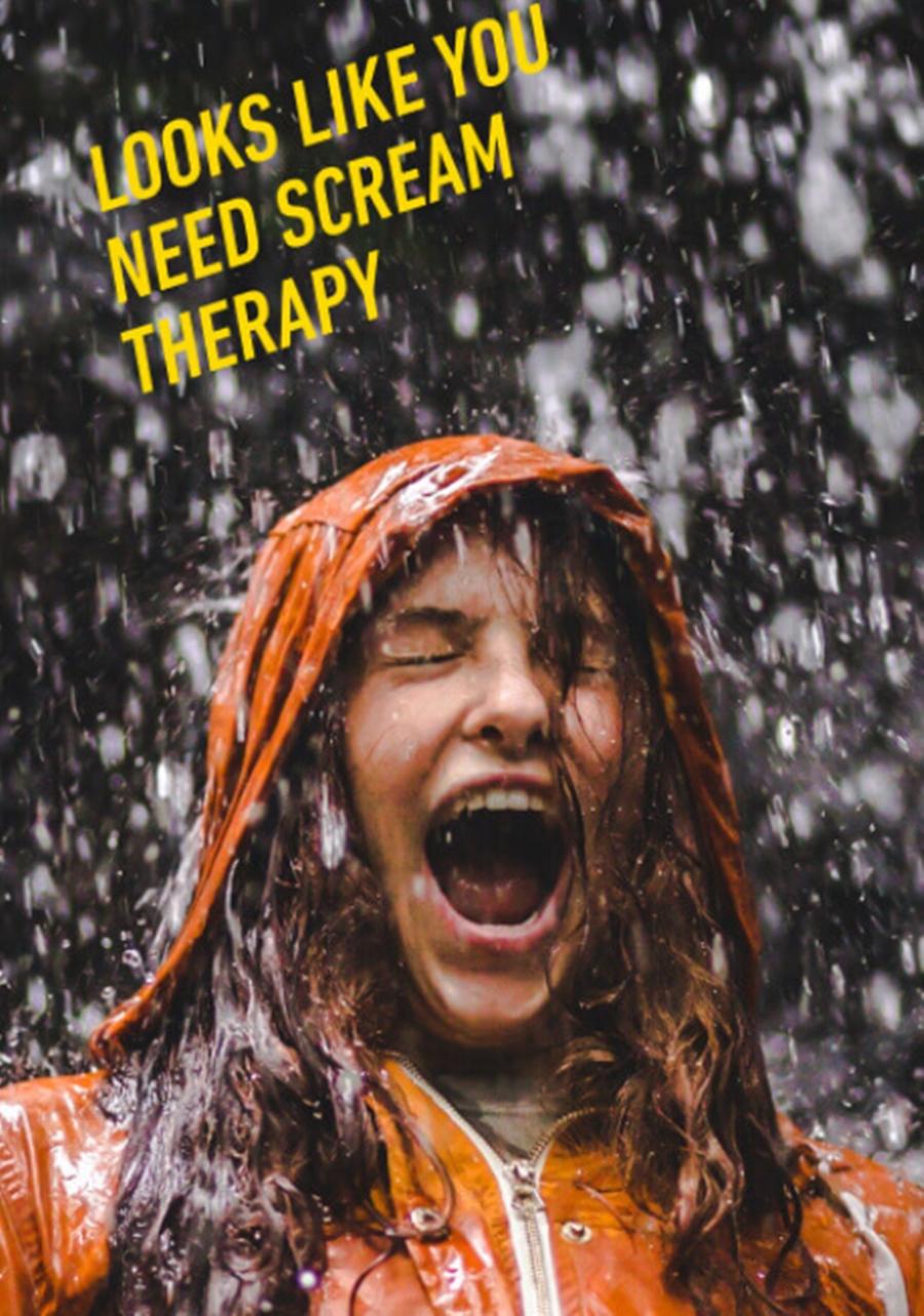 terapia krzykiem