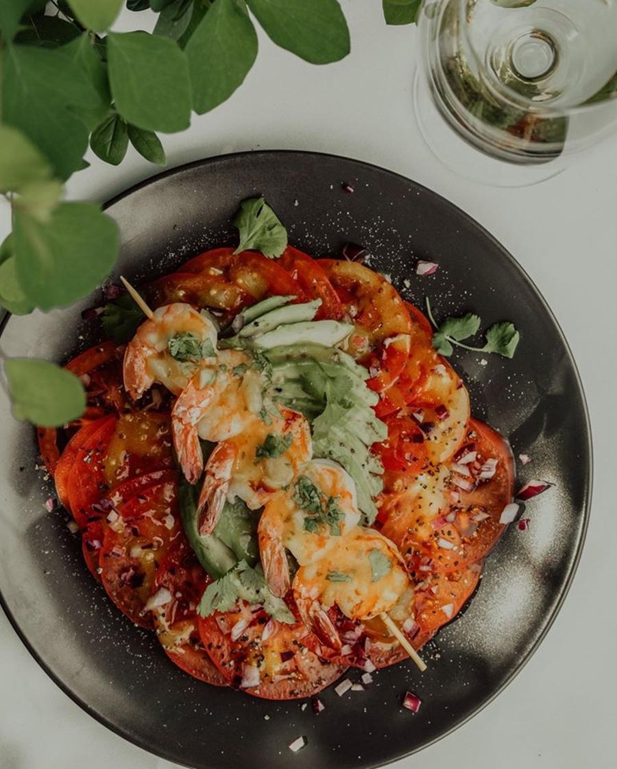 carpaccio z pomidora