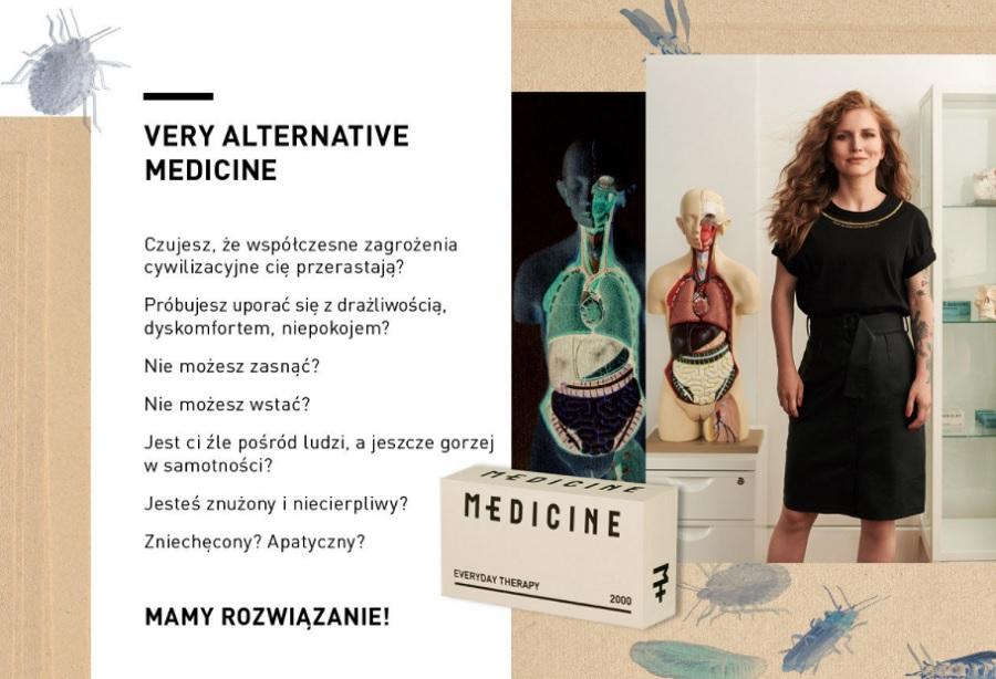 Dorota Masłowska w reklamie MEDICINE