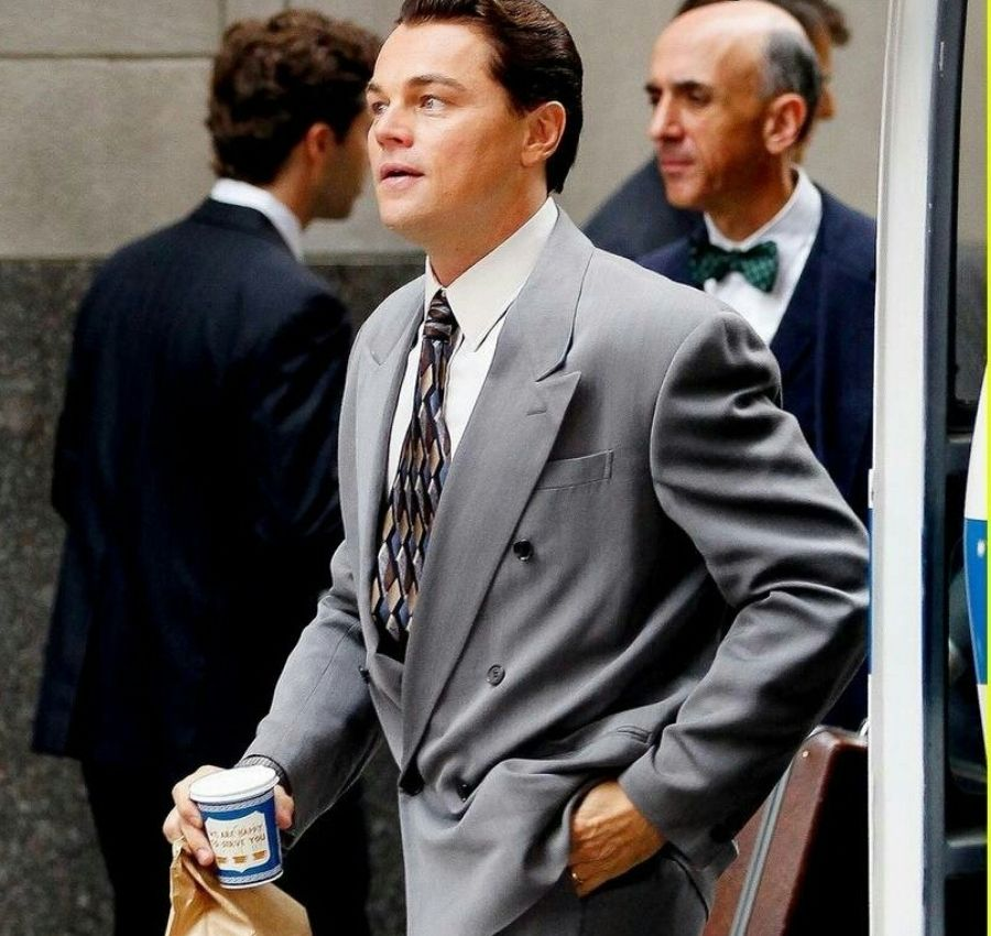 Leo DiCaprio with an Anthora Cup